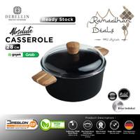 Debellin Absolute Casserole 28 cm - Panci Granite Anti Lengket - Abs CR28