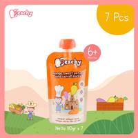 Peachy Mango,sweet potato and carrot puree - 1 Pcs