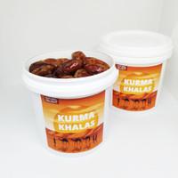 Kurma Khalas Super Ember Premium Grade A korma arab lembut toples