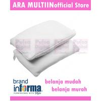 INFORMA Set Bantal Tidur Memory Foam Comfort 2 Pcs - Putih
