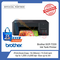 BROTHER Printer DCP-T220 Ink Tank Printer