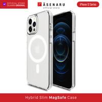 iPhone 12/Mini/Pro/Max Case Asenaru MagSafe Clear Cover Hybrid Casing - iPhone 12