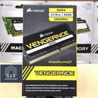 Corsair Memory Vengeance 32GB KIT DDR4 2666MHz PC4-21300 RAM SODIMM