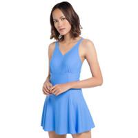 Opelon Pakaian Renang Wanita - Dress Suit Blue