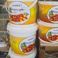 kurma madu sukari kemasan ember berat 850 gram