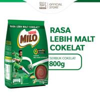 MILO ACTIV-GO Minuman Cokelat Berenergi Pouch 800g