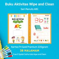 Buku Aktivitas Wipe and Clean Seri ABC merk Secil Mainan
