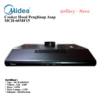 MIDEA MCH60MF15 Cooker Hood Penghisap Asap Dapur 60cm GRADE BERGARANSI