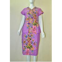 Setelan Batik encim - size M/L - SB02 - M