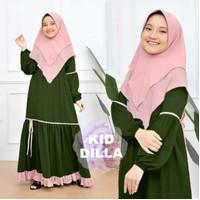 KID DILLA ARMY [Baju Muslim Anak 0121] UDN Baju Gamis Anak