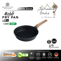 Debellin Absolute Fry Pan 24 cm Penggorengan Granite Anti Lengket - Abs FP24