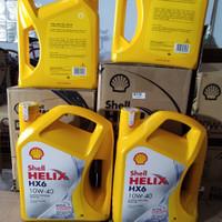 Oli Mesin Mobil Shell Helix HX6 10W40 (4 L)