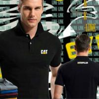 Polo shirt / kaos kerah Caterpillar - bordir #HighQuality