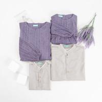 Family Set Mahagita Baju Sarimbit Koko Ayah dan Anak