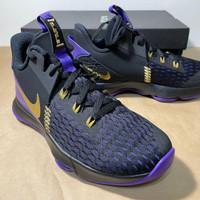 Nike Men LeBron Witness V EP Shoe Black Purple CQ9381-001 ORIGINAL
