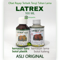 Obat Rayap Latrex 100 ml Anti Rayap Kayu 400 EC Original LATREK Teter