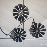 Fan vga Asus Strix 88mm 7pin TRIPLE FAN RTX 2080 2070 2060 Satu SET