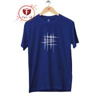 Kaos Unik LINE ABSTRAK - Baju Kaos Distro Pria Murah- Kaos Cewek Murah