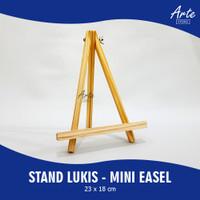Stand Lukis Kayu Kecil - Mini Wooden Easel