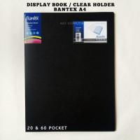 Clear Holder / Display Book A4 Portrait Bantex - 20 & 60 Pocket - 60 Pocket