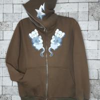 Second Import Hoodie Full Zip BAPE x KAWS Size L
