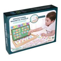 Educational Magnetic Puzzle - Mainan Edukasi Papan Tulis Magnet Anak