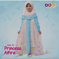 Setelan Baju Anak Muslim St Princess Alfira Rabbani Batuta ORIGINAL