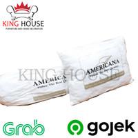Bantal / Guling Tidur Hotel Americana Silikon Empuk, Murah, Nyaman