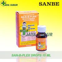 SAN-B-PLEX DROPS 15 ML MULTIVITAMIN ANAK DAN BAYI PENAMBAH NAFSU MAKAN