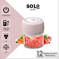 Mini Blender Daging Bawang Elektrik 400ml Bergaransi