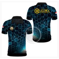 Baju Jersey INTELKAM CAKRA Printing / Promo / Murah Berkualitas / POLO - GALAXY BLUE, S