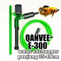 QANVEE E300 penyedot air aquarium