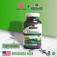 Damiana Leaves Nature's Answer 90 VCaps