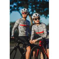 Baju Sepeda Cycling Jersey Cowok/Cewek/Unisex Camo Grey