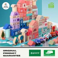 Mainan Balok Susun / Mainan kayu masa kini