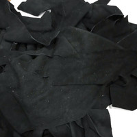 Bahan kulit asli sapi swede limbah potongan termurah