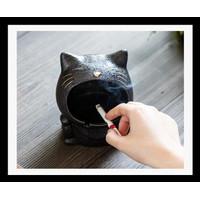 Diskon Asbak Unik Model Kucing - Stoneware Cute Standing Cat Ash Tray