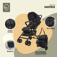Stroller Baby Elle Kereta Dorong Bayi BabyElle 515 Matrix Bisa Gojek - NAVY