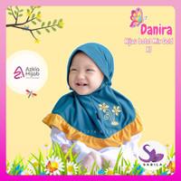 Jilbab Kerudung bayi Perempuan 0 6 bulan Azkia hijab danira lucu