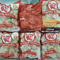 baso bakso meatball sumber selera kebon jeruk 650 gr gram isi 50