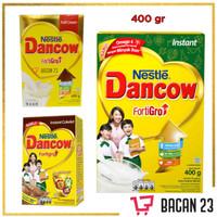Dancow fortiGro (400gr) (Full Cream / Coklat / Instant) / Susu Bubuk