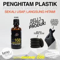 LUMOBRITE 168 Fade To Black Trim Restorer 100 ml Menghitamkan Plastik