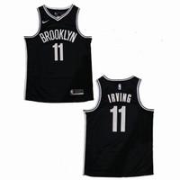 Baju Jersey Basket Swingman NBA Kyrie Irving Brooklyn Nets Hitam