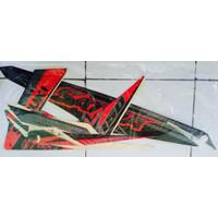 Sticker motor Satria FU tahun 2014