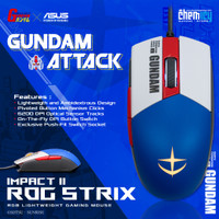 Asus ROG Strix Impact II Gundam Edition RGB Gaming Mouse