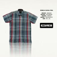 Baju Kemeja Casual / Kemeja Pria Lengan Pendek / Kemeja Kantor Murah