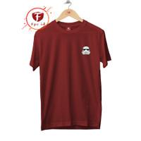 Kaos Distro Pria Starwars Logo Cotton Combed 30s T Shirt Wanita Murah