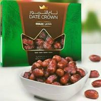 date crown khalas 1 kg/kurma khalas manis 1 kg