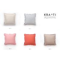 Krafti- Bantal Sofa / Sarung Bantal Sofa / Bantal 45x45 / Serena Frill