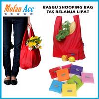Baggu Shopping Bag Reusable (Kantong Belanja Tas Jinjing Lipat Praktis
